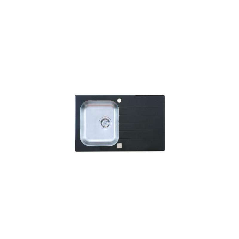 Sudopera Metalac Onyx 800x500 fi90 crna