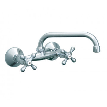 Baterija za sudoperu, lavabo Rosan izliv 200mm  N03101