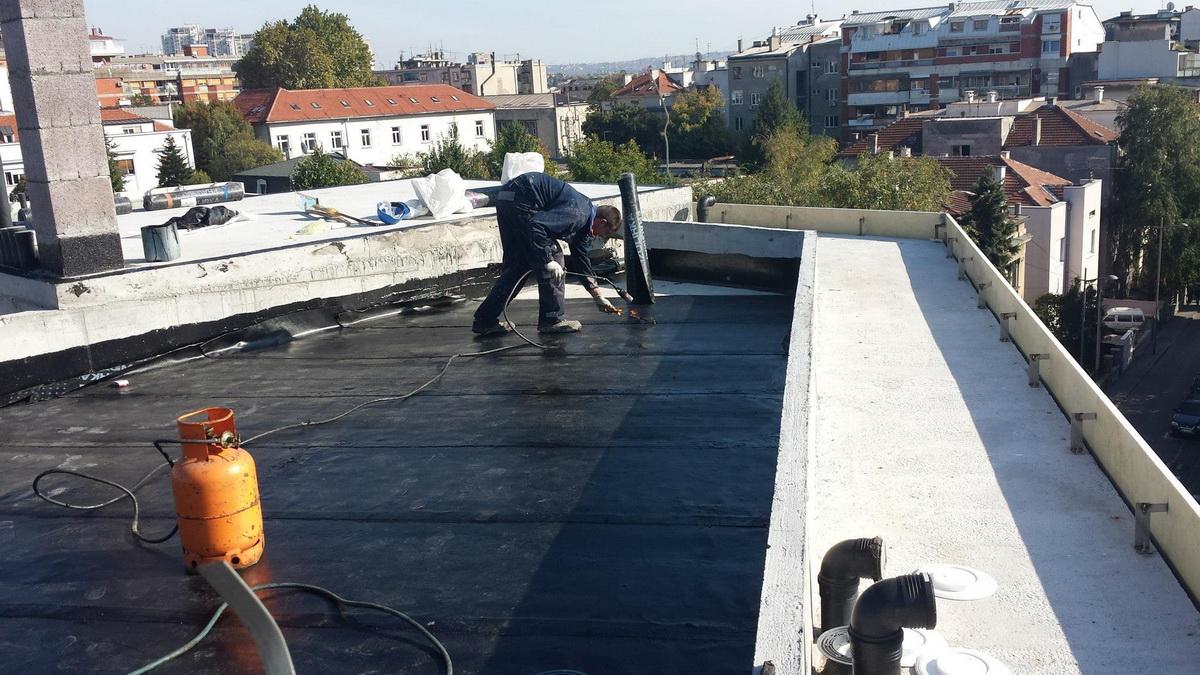Hidroizolacija ravnih krovova 11