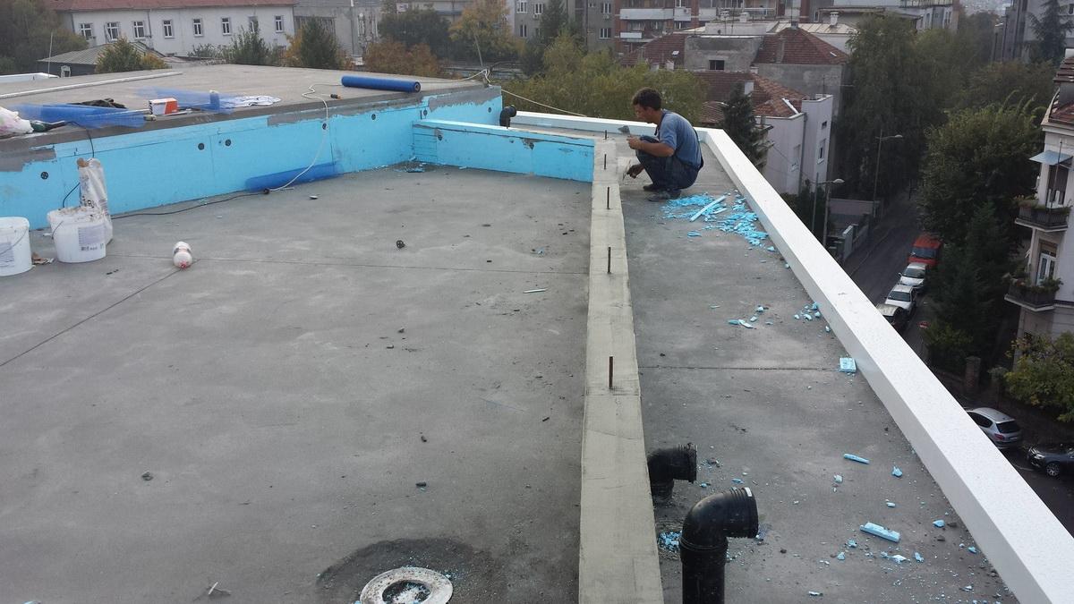 Hidroizolacija ravnih krovova 12