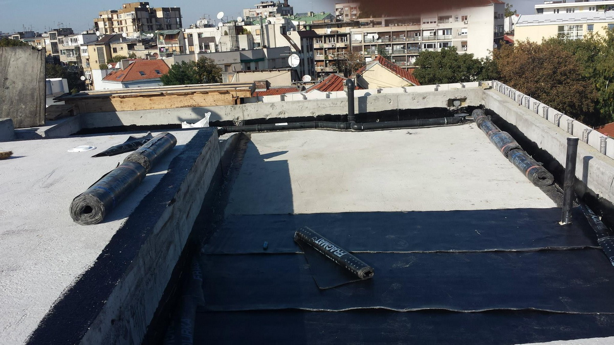 Hidroizolacija ravnih krovova 3