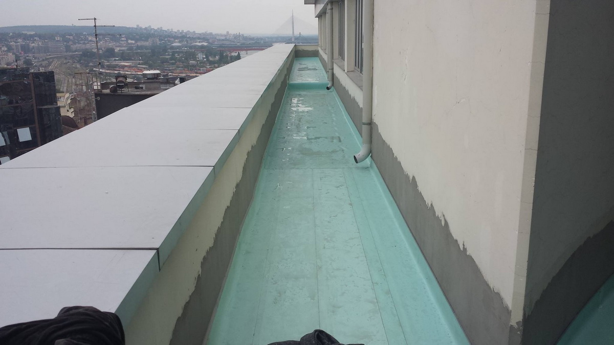 Hidroizolacija ravnih krovova 6