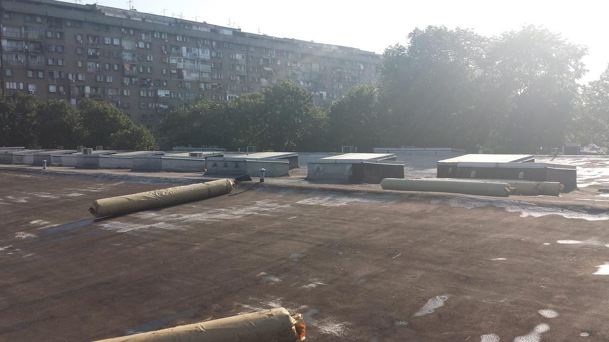 Hidroizolacija ravnih krovova 8