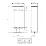 dimenzije-bojler-ariston-80-litara-velis-evo